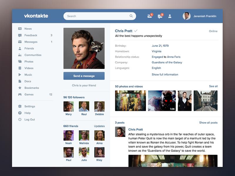 Panduan Untuk Vkontakte, Raksasa Media Sosial Rusia